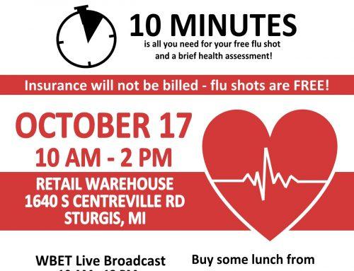 Free Flu Shot Event
