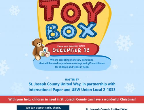 Collecting Donations for Toy Drive