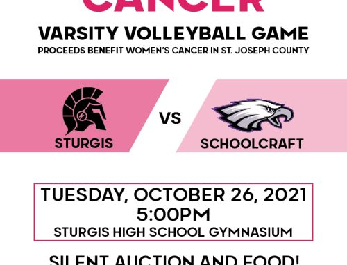 SPIKE OUT CANCER — STURGIS VARSITY VOLLEYBALL